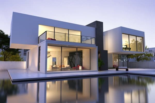 Modern Home | Pool | Window Wall | contemporary | steel |