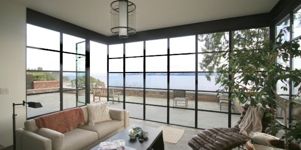 Steel | Custom Steel | Window wall | Luxury Windows | Luxury Steel Doors