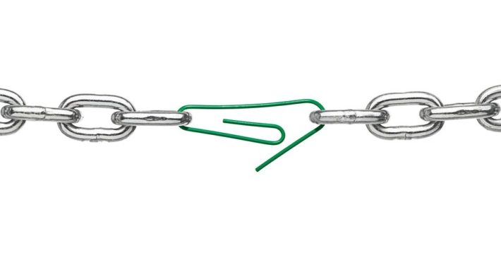 Weak Link, Chain, Paper clip, Supply