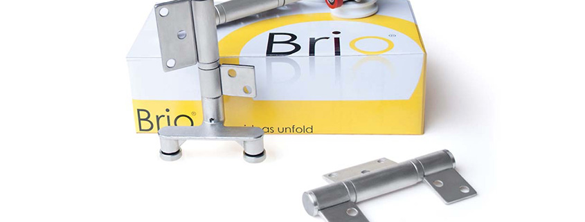 Brio, Hinges, Trolly, Stainless Steel, Offset