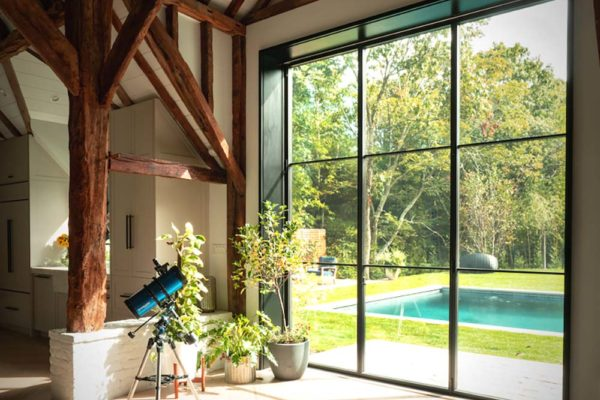 interior folding doors | luxury folding doors | custom folding doors | moveable walls | glass accordion doors