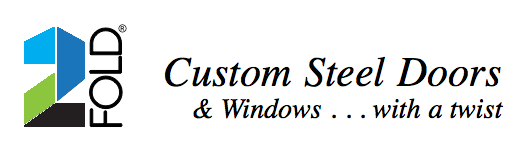 Logo | custom folding doors | custom bi fold doors | steel and glass doors | luxury glass doors