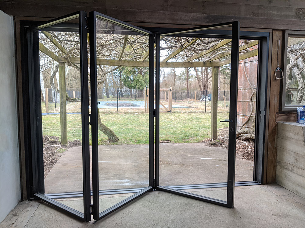 custom steel products | custom folding doors | movable walls | thermal break steel windows | luxury folding doors | minimalist architecture
