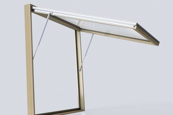 OpenUp pass-through awning window